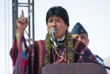 Welcome Back Evo Morales